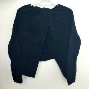 French Connection Navy Twist Open Back Sweater